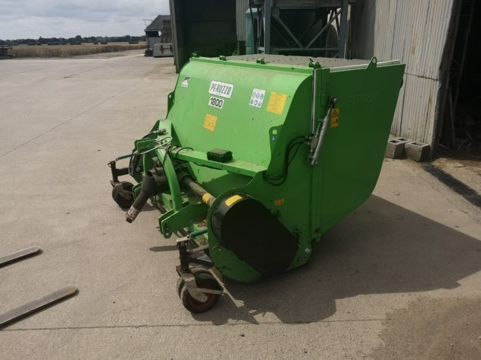 Peruzzo 1.8 Flail Mower Collector